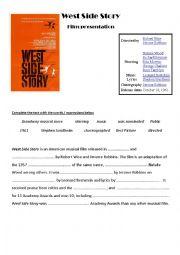 West Side Story,  movie presentation