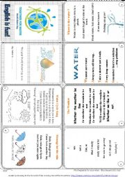 World Water Day 2014  [March 22nd]  Mini Book