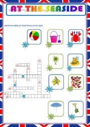 English Worksheet: AT THE SEASIDE - HOLIDAYS