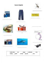 English Worksheet: Australian English