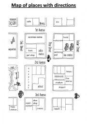 english worksheets places worksheets page 56. Black Bedroom Furniture Sets. Home Design Ideas