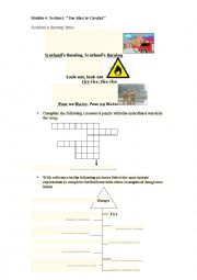English Worksheet: section1 YOU MUST BE CAREFUL