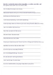 English Worksheet: Worksheet to practice paired conjunctions