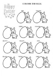 English worksheet: HAPPY EASTER ! !