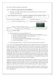 english worksheets using movies worksheets page 297. Black Bedroom Furniture Sets. Home Design Ideas
