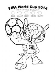 Word Cup 2014 Mascot