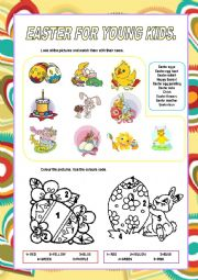 English Worksheet: easter