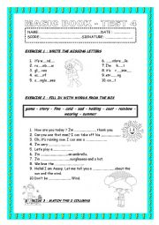 review test for young learners