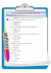 TOP 10 ATTRACTIONS OF NEW YORK CITY