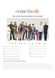 English Worksheet: Modern Family, Season 4 Episode 7