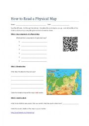 How to Read a Physical Map