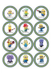 English Worksheet: Minion Madness Activity Pack for Despicable Me