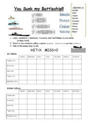 comparative battleship game