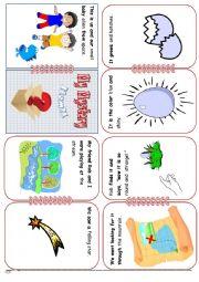 English Worksheet: Creative Storytelling Part 1