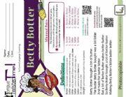 English Worksheet: Betty Botter - A Visual Tongue Twister Activity (Tongue Twister Time)