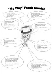 English Worksheet: My way Frank Sinatra