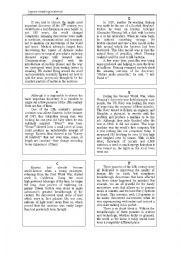 English Worksheet: Scentific Breakthroughs-Jigsaw reading material