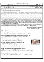 English Worksheet: A BAC  exam for foreigh languages pupils in relation to Ethics in business, it�s about the African offcials.