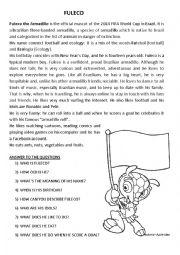 English Worksheet: FULECO
