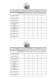 English Worksheet: battleship