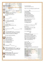 English Worksheet: You belong with me