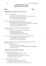Chemistry Test 2
