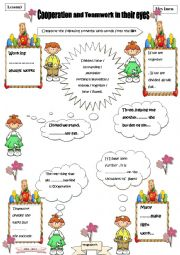 LESSON 3 -COOPERATION -Proverbs