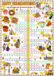 Thanksgiving : crossword puzzle