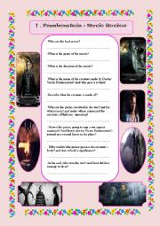 English Worksheet: I Frankenstein