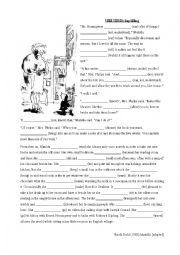Matilda - Verb tenses (gap filling)