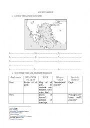 English Worksheet: Ancient Greece - The Greeks