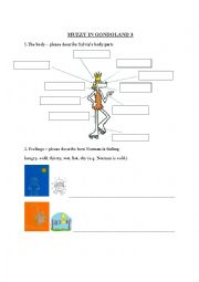 English Worksheet: Muzzy in Gondoland 2