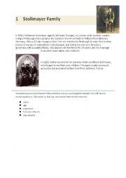 English Worksheet: Ellis Island - The People