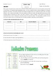 English Worksheet: school rules worksheet