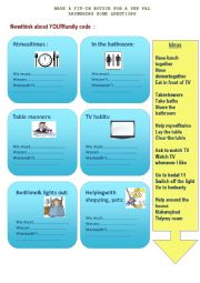English Worksheet: Fit in notice for a penpal
