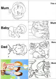 Family Members - Mini Book