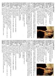 English Worksheet: A Beautiful Mind Movie Worksheet