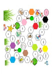 English Worksheet: COLOURS AND ANIMALS GAME