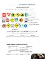 Traffic rules - Movie task