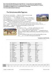 English Worksheet: Fantasy animals