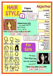 How to describe hairstyles for girls