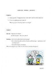 English Worksheet: Exercise