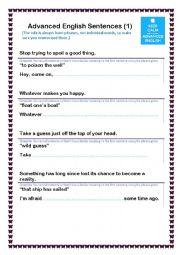 Cool English Phrases(1)