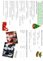 English Worksheet: Happy Christmas song by John Lennon