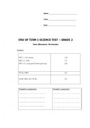 Science test