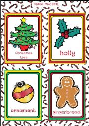 Christmas FLASHCARDS 2 - 5
