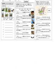 English worksheets: Conjunctions worksheets, page 95