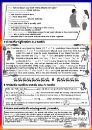 English Worksheet: 7th form mid term test Part 2