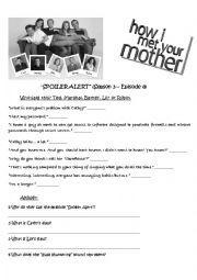 Spoiler Alert - How I Met Your Mother - s3 ep8