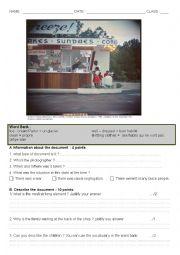 English Worksheet: Segregation in the USA - image description